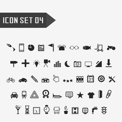 icon set 04.vector illustration.