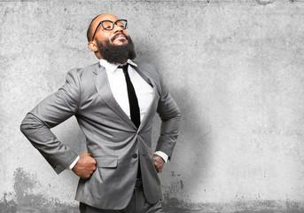 business black man proud