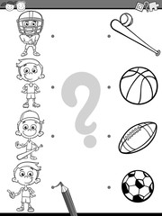 educational coloring page