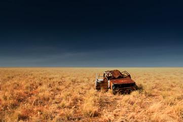 lonely Australian Outback scenery