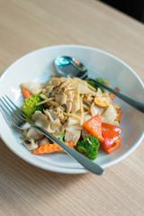 Druken noodle, stir fried food Thailand.