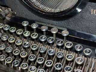 Typewriter Remington vintage keyboard