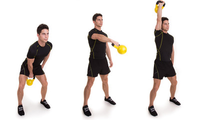 Kettle bell, Uni Swinging Snatch, Exercise