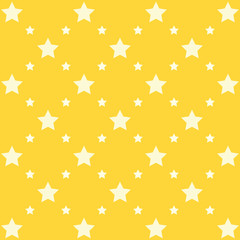 Cute stars vector pattern
