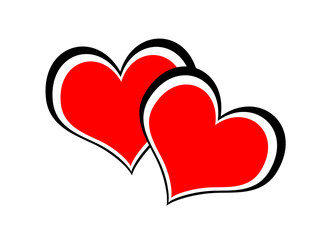 Valentine, hearts. Love