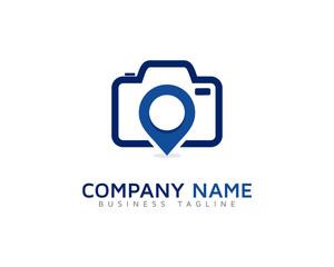 Photo Point Logo Design Template