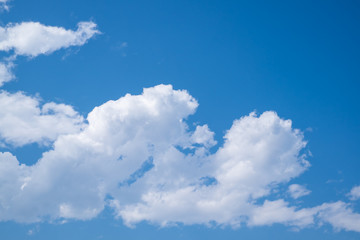 Beautiful colors on cloudscape for background
