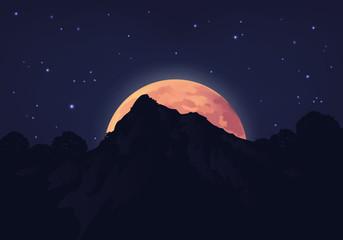 LUNE Montagne