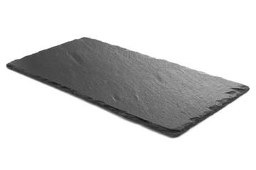 Fototapeta Black slate plate