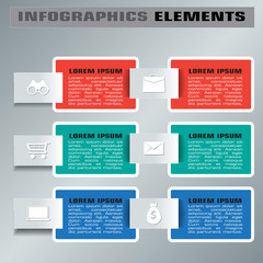 Multi Purpose Infographic Vector Design Template