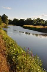 Louet river in Anjou