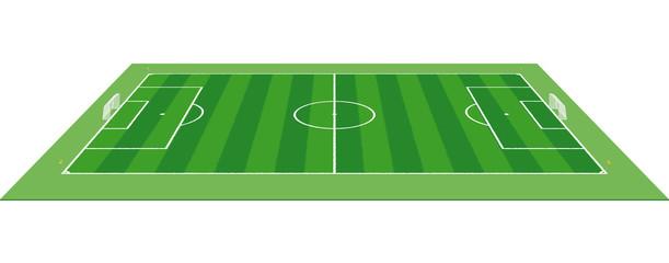Soccer field - Pitch - Football Field 3D