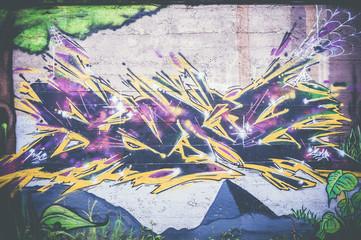 Mur peinture graf