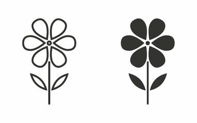 Flower - vector icon.