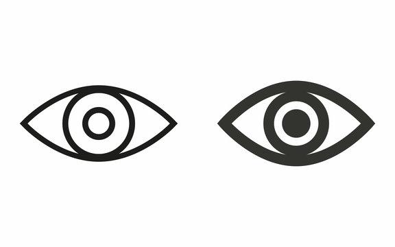 Eye - vector icon.
