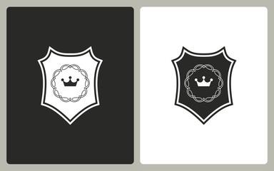 Shield - vector icon.