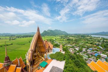 Big Buddha statue at Kanchanaburi Province in Thailand, Tiger Cave Temple (Wat Tham Sua)