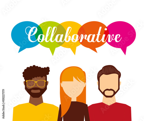 """A Collaborative Design Group: """"collaborative Concept Design """" Stock Image And Royalty"""