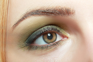 eye closup