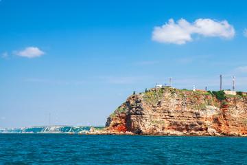 Landscape of Kaliakra, Bulgarian Black Sea Coast
