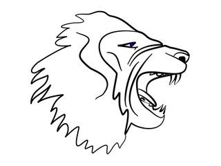 Löwe Tribal