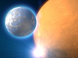 Pianeti di un'altra galassia, spazio, fantascienza