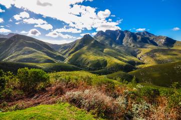 Blick auf den Montagu Pass; George; Südafrika