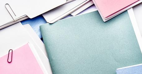 Files. Pile of files.