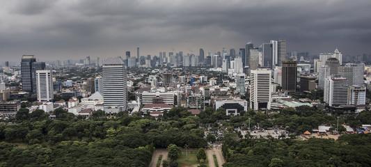 Jakarta city panorama