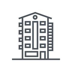 Apartment, real estate icon