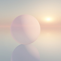 Soft Sphere Background