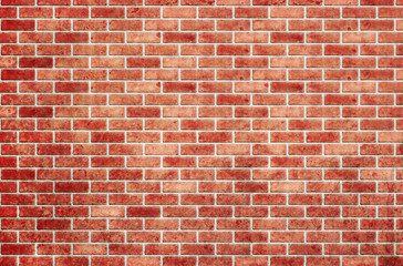 Red brick wall as a nicely textured background