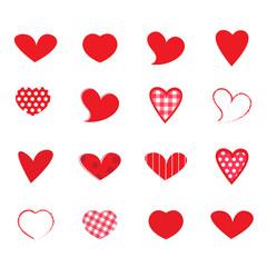 hearts Vector set