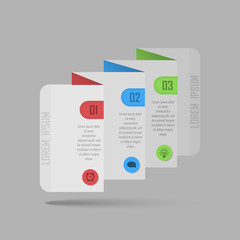 Vector brochure design templates collection. Applications and Infographic Concept. Flyer, Brochure Design Templates. Abstract background. Vector illustration for flyers, posters, banners.