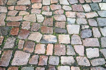Stone Background / many Cobblestones background