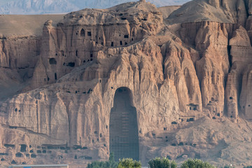 The monumental Buddha statues of Bamyan