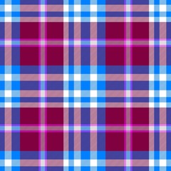 blue purple claret check diamond tartan plaid fabric seamless pattern texture background