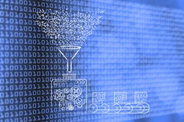 data transformation, factory processing binary code