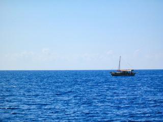 Small Tourist Tour Boat