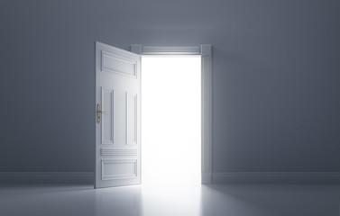 Tür aus dem Dunkel