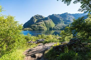 Berge auf Moskenesøy