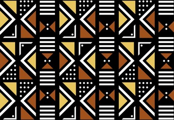 Geometric Mud Cloth Design
