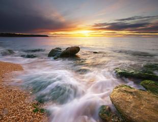 Beautiful nature seascape.