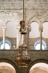 Botafumeiro en la catedral