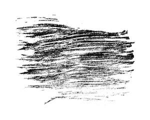 Monochrome black grunge stain.