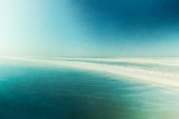 Wall Mural - Textured Abstract Seascape
