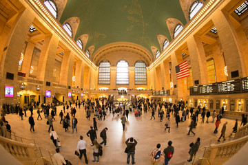 Grand Central interior in Manhattan, New York City.