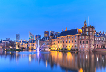 Binnenhof Palace in The Hague (Den Haag)