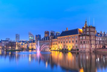 Binnenhof Palace in The Hague (Den Haag)