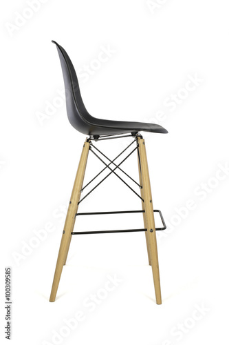 Plastic Chair Side View